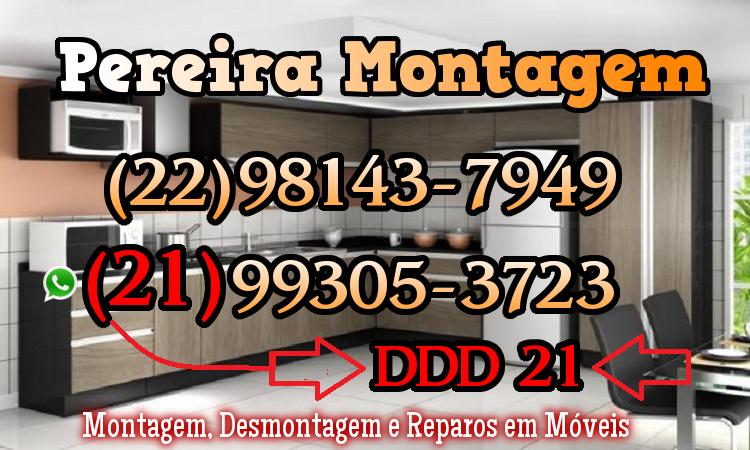 Montador de Móveis Itaperuna RJ - Montador de Móveis Itaperuna ⎛⎛RJ(22)98143-7949