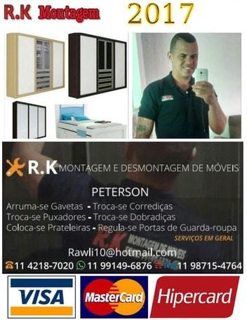 Montador de móveis Guarulhos