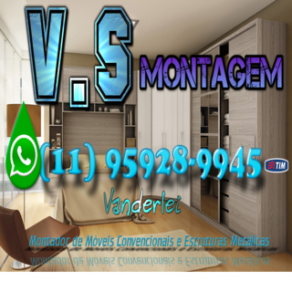 VS Montagem de Móveis - Montador de móveis Biritiba-Mirim - SP -(11) 95928-9945