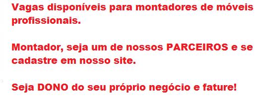 Anuncie AQUI 1 - Montador de Móveis Manaus - AM